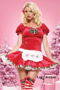 Candy Cane Cutie Costume by Leg Avenue
